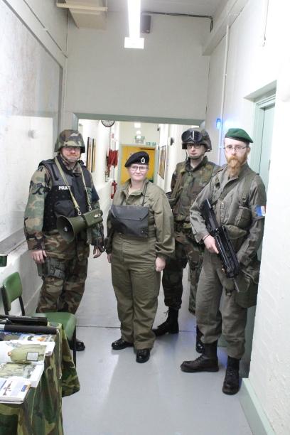 The Nato contingent